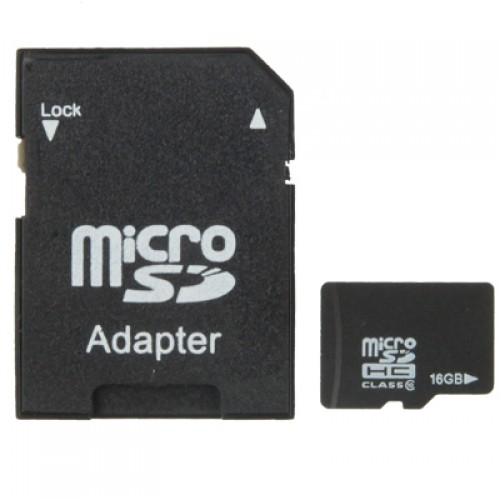 16GB High Speed Class 10 Micro SD(TF) Memory Card (100% Real Capacity)